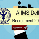 AIIMS Nursing Officer NORCET Online Form 2020